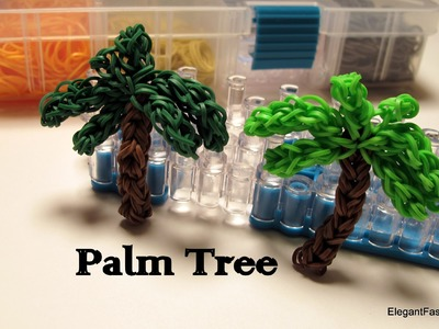 Palm Tree Charm - How to Rainbow Loom design