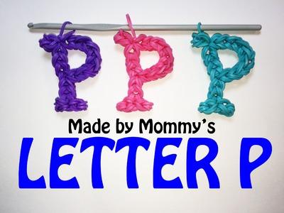 Rainbow Loom Letter P Charm Using Just the Hook