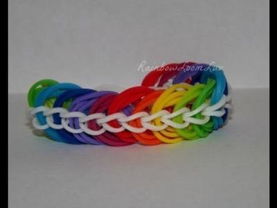 Rainbow loom Triple Link chain Bracelet