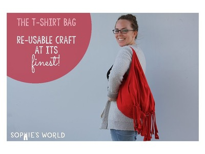 Recycled T-Shirt Beach Bag|Sophie's World