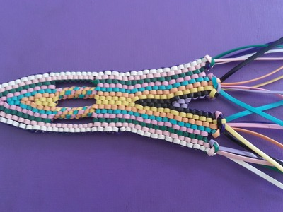 The RocketShip lanyard step by step tutorial part #1 (making the head)