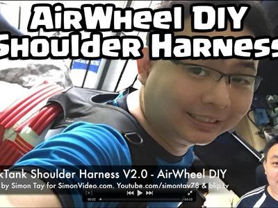 Think Tank Shoulder Harness V2 - AirWheel DIY - Day 12