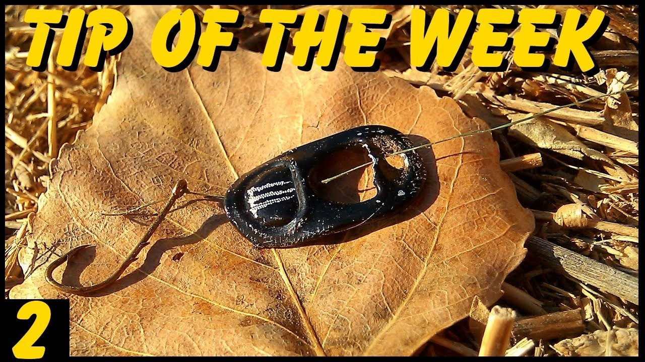 """""""Tip of the Week"""" - Improvised Fishing Lure (E2)"""