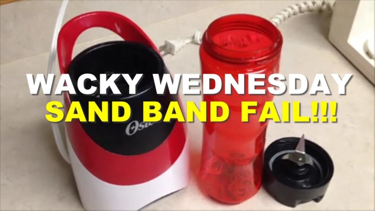 WACKY WEDNESDAY - SAND BAND FAIL FUNNY Rainbow Loom Band Tutorials by Crafty Ladybug.How to DIY