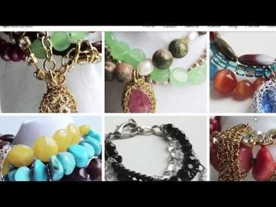 Wire Crochet Jewelry Course - Wire Crochet Patterns