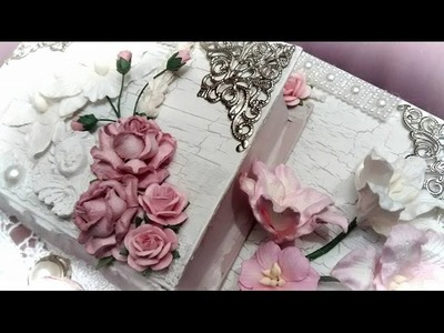 WOC SHABBY CHIC BOOK BOX STACK FOR WOC (full start to finish tut)