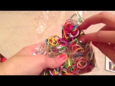 Wonder loom unboxing and loom band at Walmart ???