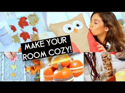 5 Easy Fall Room Decorations! | Bethany Mota