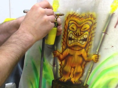 Air Brush Classes Part Two