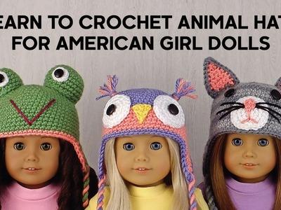 Amigurumi Animal Hats for American Girl Dolls ~ Book Trailer
