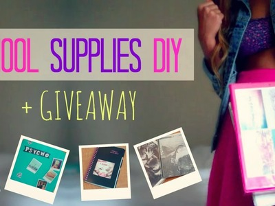 Back 2 School Supplies DIY + Giveaway lx3bellexoxo ♡