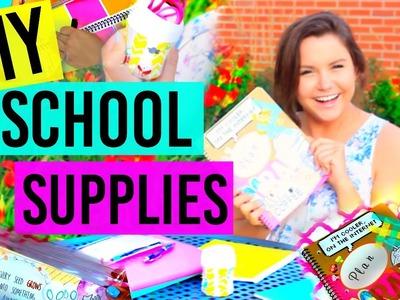 Back To School: DIY School Supplies!!! Tumblr Inspired