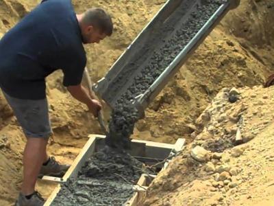 Concrete Footer Part 2
