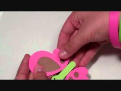 Cricut Butterfly Card with Create a Critter