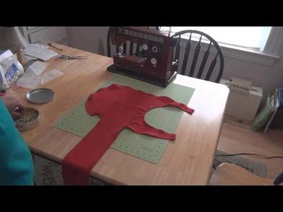DIY Compression Shirt (Thunder Shirt) Part 3