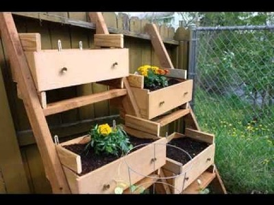DIY decorating Ideas for Small space garden