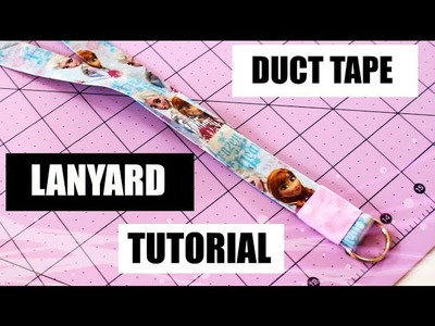 DIY: Duct Tape Lanyard Tutorial!