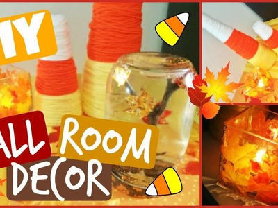 DIY: Fall Room Decor! EASY + CHEAP Decor! | CraftieAngie