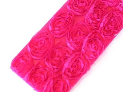 DIY iPhone 5 3D Rosette Case