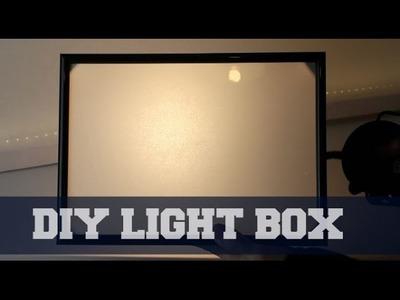 DIY Lightbox Tutorial - Epic Crafts