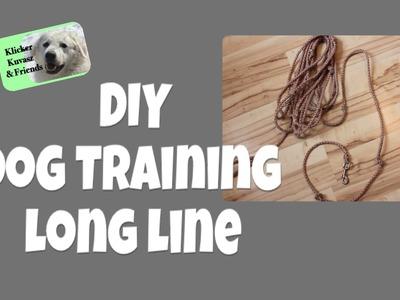DIY Long Line For Dog Training