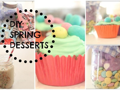 DIY Spring Treats + Circus Animal Milkshake!!