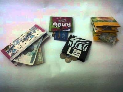 Ecodiseño ~ Billeteras de Material Reciclable