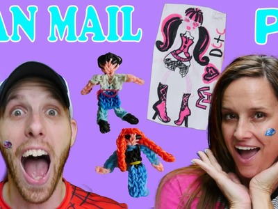 FAN MAIL Part 1 Frozen Rainbow Loom My Little Pony Monster High by Disney Cars Toy Club DCTC