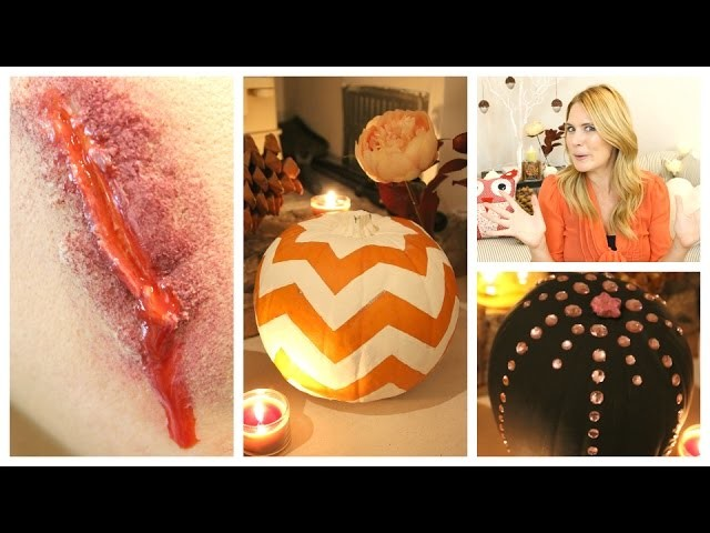 Halloween Makeup and DIY Decorations | TalkBeckyTalk
