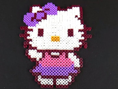 Hello Kitty Perler Beads Creativity Craft for Kids