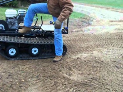 Homemade Twin-Track Go Kart