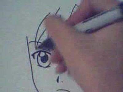 How To Draw Manga.Anime Boy 01