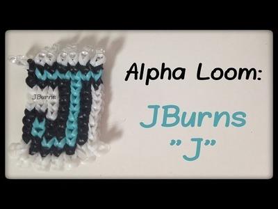 """How to Loom: """"JBurns J"""" Pattern (Alpha Loom)"""