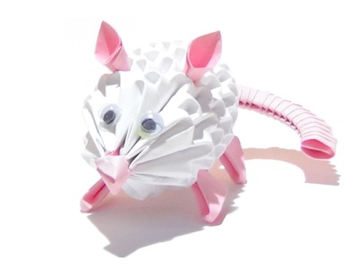 How To Make A 3D Origami Mouse
