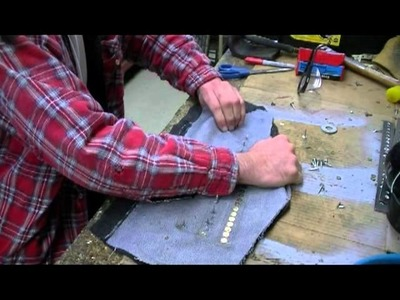How to make: A brigandine Cuisse