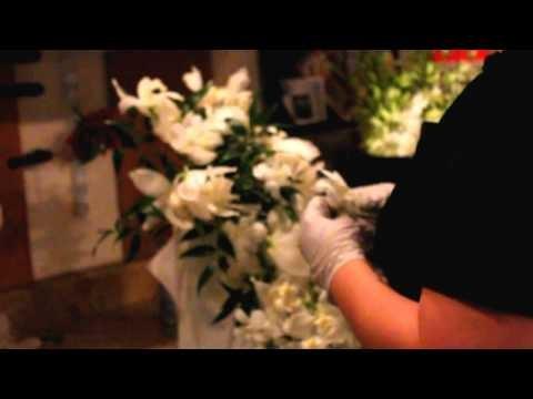 How to Make a Cascade Bridal Bouquet