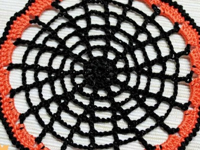 How To Make A Crocheted Halloween Cobweb Doily - DIY Crafts Tutorial - Guidecentral