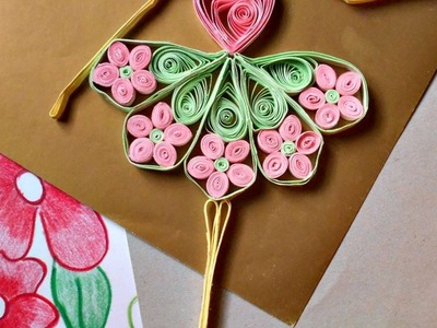 How To Make A Cute Quilled Dancing Doll - DIY Crafts Tutorial - Guidecentral