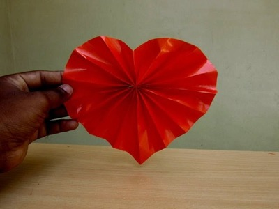 How to Make a Paper Heart Decoration (Valentine's Day Spl) - Easy Tutorials