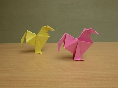How to Make a Paper Hen - Easy Tutorials