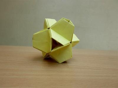 How to Make a Paper Modular Kusudama - Easy Tutorials