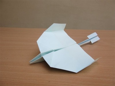 How to make a paper Swing Airplane - Easy Tutorials