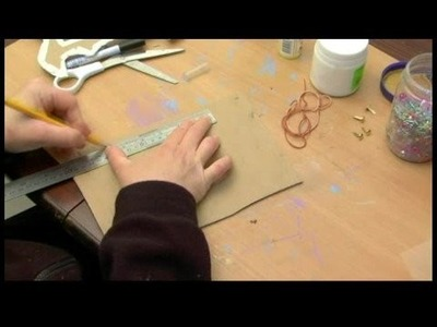 How to Make a Personalized Picture Frame : Making Back for Picture Frame
