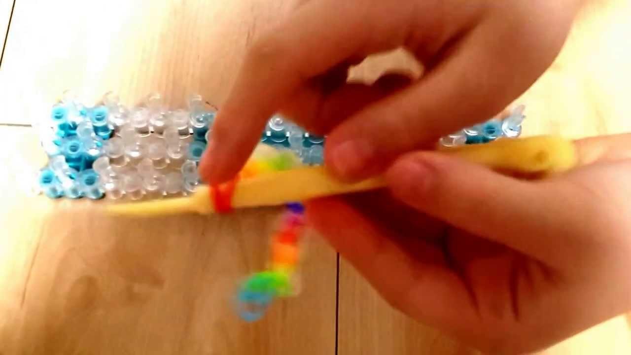 How to make a Rainbow Loom Beads Tail Bracelet