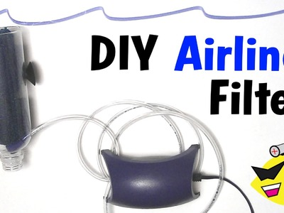 How To Make: Cheap DIY Aquarium Filter (Air Line Filter)