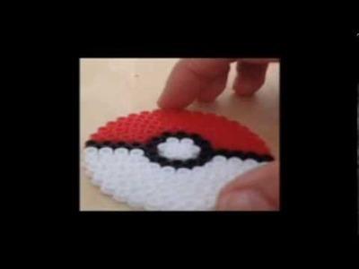 How To Make Perler Bead Pokeball