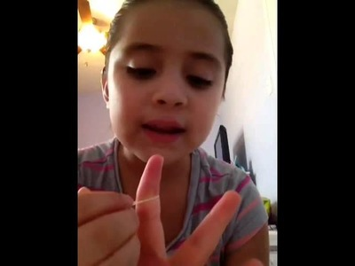 How to make rainbow loom ring with your fingers