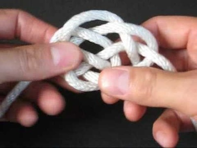 How to Tie the Basket Knot by TIAT