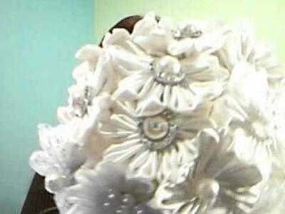 Kanzashi Wedding Bouquets