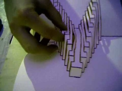 Kirigami Tutorial - Untitled Abstract